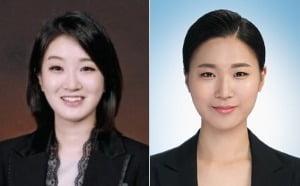 안혜진(왼쪽)·장진 컨설턴트.