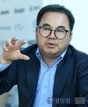 한경닷컴과 인터뷰하는 윤재영 스페로파트너스 대표. / 사진=변성현 기자