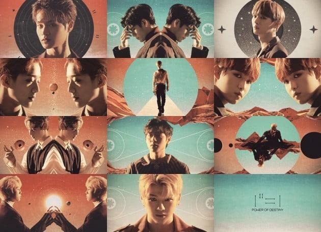 워너원, '1¹¹=1 (POWER OF DESTINY)' 11월 19일 발매…연산 시리즈 집대성