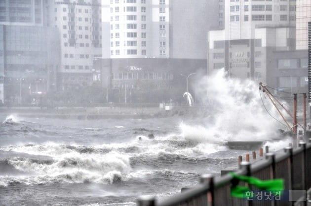 태풍 콩레이/사진=한경DB