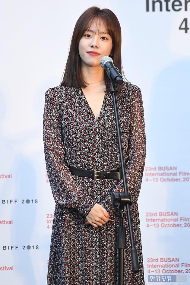 [포토] 한지민, '눈 뗄 수 없는 아름다운 미모' (부산국제영화제)