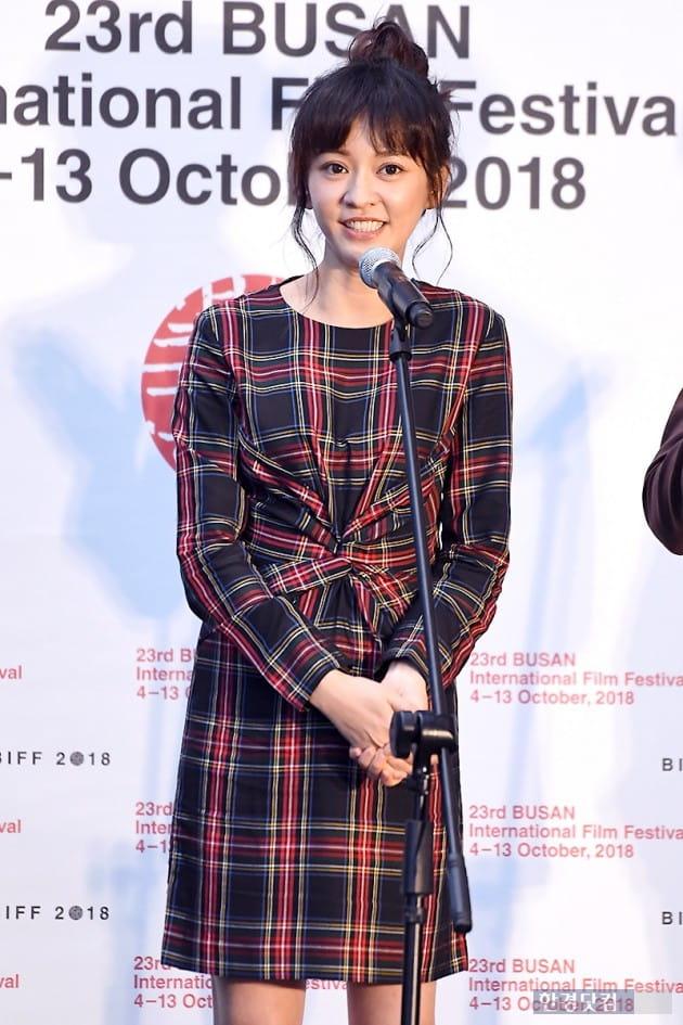 [포토] 진의함, '매력적인 미소~' (부산국제영화제)