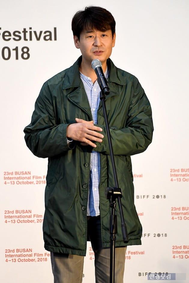 [포토] 박혁권, '기도하는 남자'로 부산 왔어요~ (부산국제영화제)