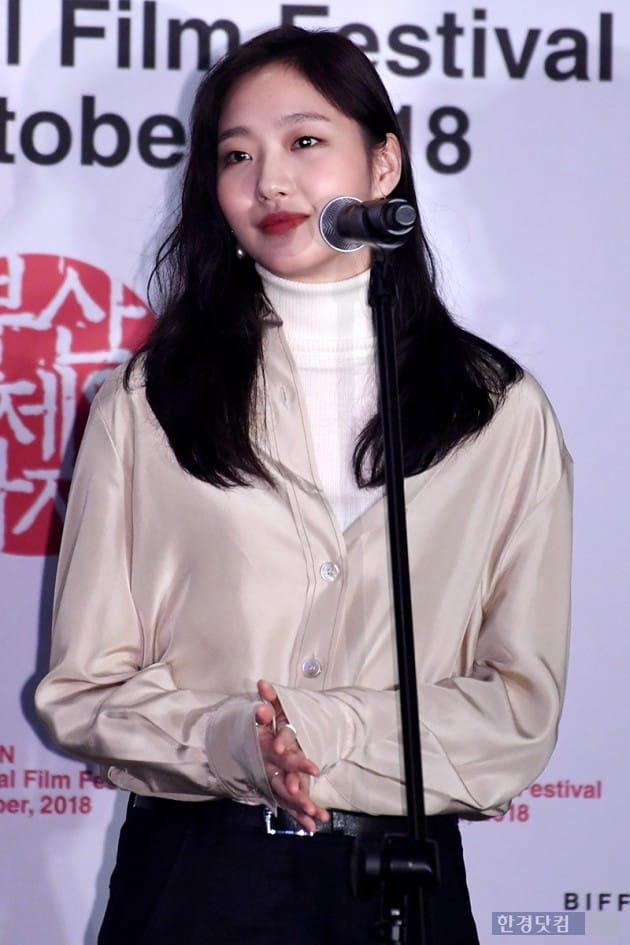 [포토] 김고은, '빛나는 청순 미모~ (부산국제영화제)