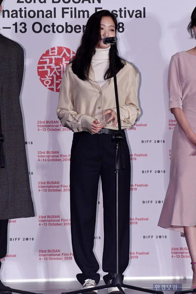 [포토] 김고은, '편하지만 멋진 패션~ (부산국제영화제)