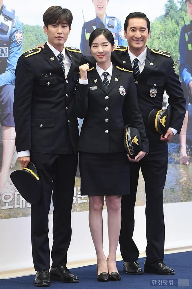 [포토] 강경준-이청아-신현준, '우리는 다정한 시골경찰'