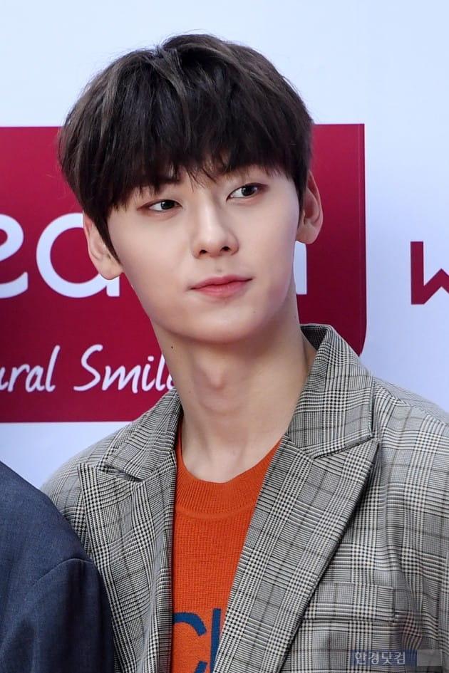[포토] 워너원 황민현, '매력적인 눈매'