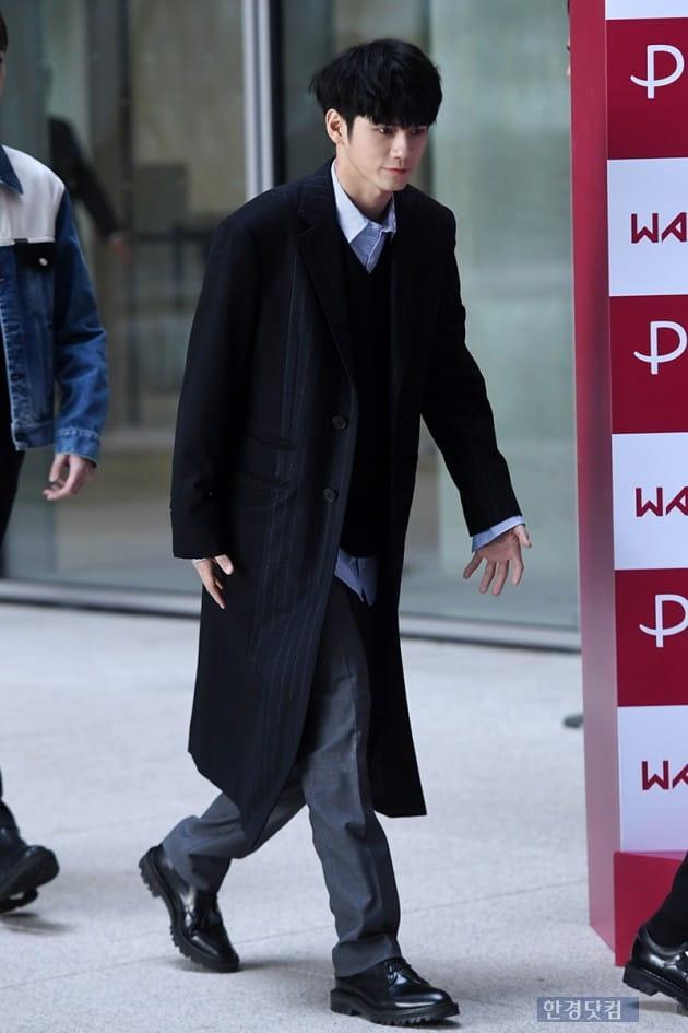 [포토] 워너원 옹성우, '멋스러운 가을 남자'