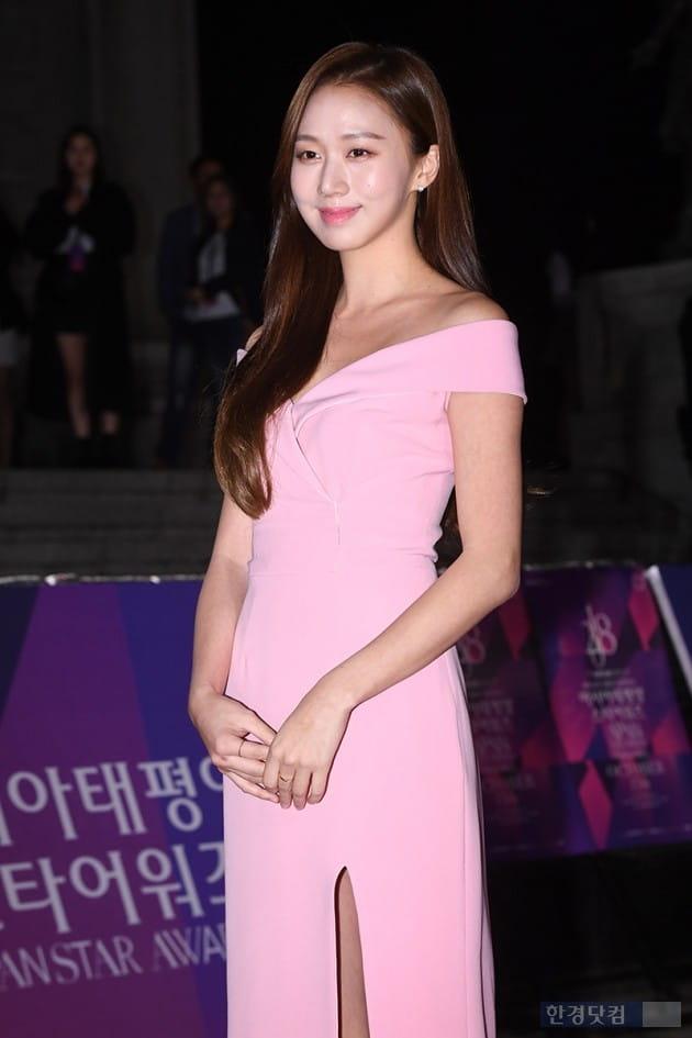 [포토] 고성희, '연분홍빛 여신'(APAN)