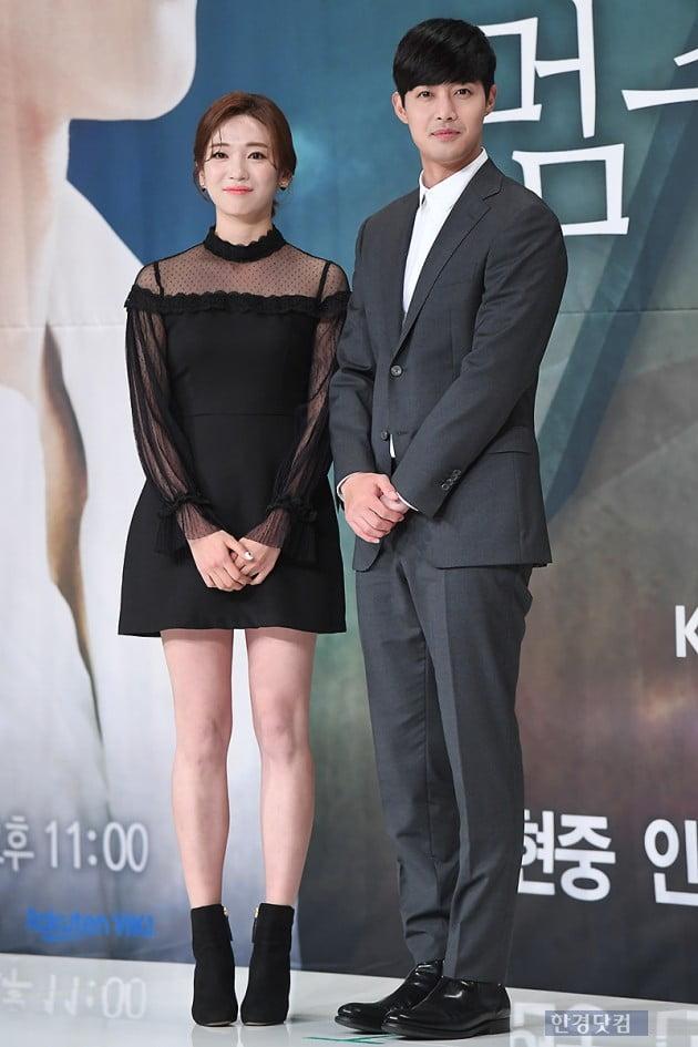 [포토] 안지현-김현중, '어색한 포즈~'