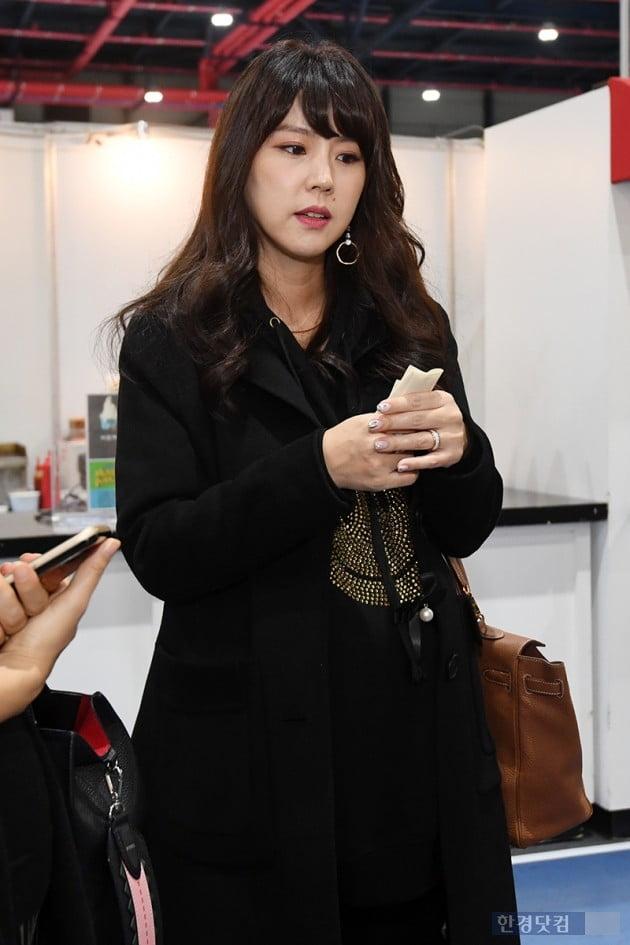 [포토] 이윤미, '셋째 임신한 아름다운 모습'(서울베이비페어)