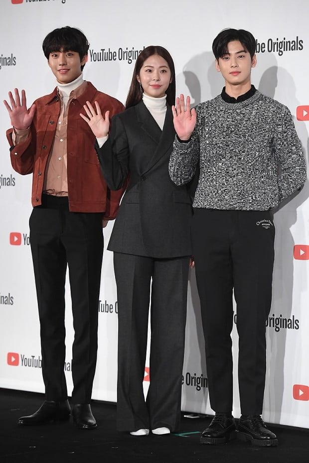 [포토] 안효섭-서은수-차은우, '우월한 비주얼 뽐내며~'