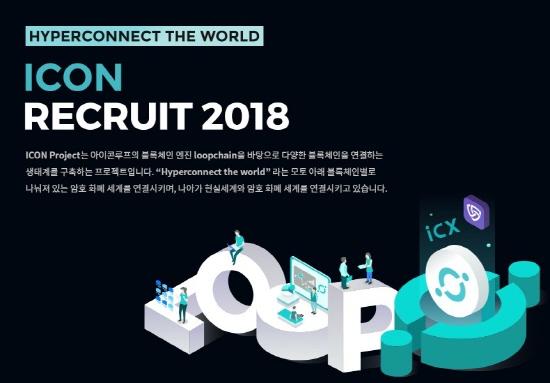 블록체인 샛별 '아이콘루프', 22개 부문 신입-경력사원 공채