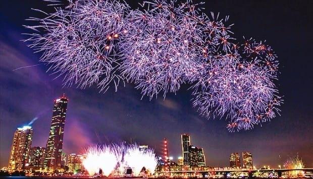 2016서울세계불꽃축제(사진=한국경제 DB)