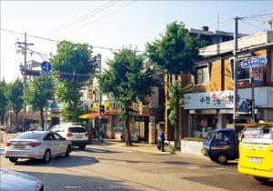 서울 성북구 장위뉴타운을 남과 북으로 잇는 '돌곶이로' 모습.  /한경DB