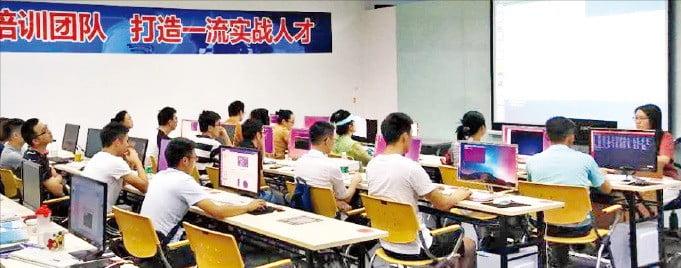 中 선전 'AI 학습 붐'…3개월 2만위안에도 인기