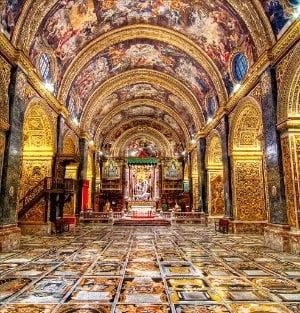 임디나의 가장 큰 건축물인 성바울 성당