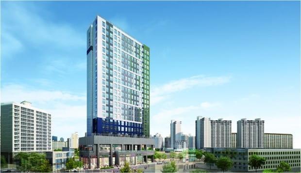 용인 죽전역 솔하임, 소형 아파트 234가구 분양