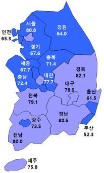 9·13대책 영향…서울·수도권 주택사업 체감경기 급락