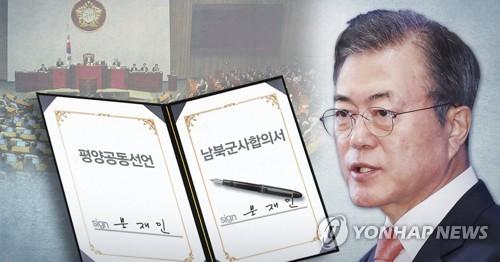 한국당, 평양선언 비준 맹공…효력정지 가처분·권한쟁의 심판
