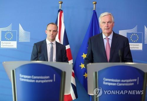 EU-영국, 이번 주 브렉시트 협상 타결하나