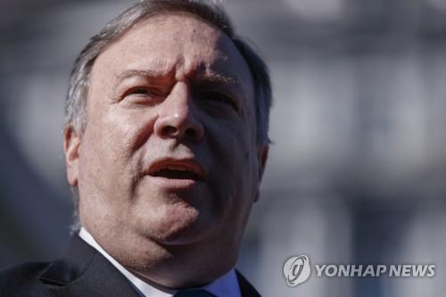 """폼페이오 """"다음다음 주에 북미 고위급 회담 개최 희망"""""""