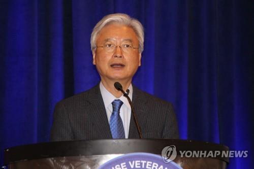 """조윤제 대사 """"남북관계-비핵화 항상 같은 속도로 움직일순 없다"""""""