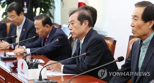 """한국당 """"가짜뉴스 규제는 개인미디어 통제""""…입법화 반기"""