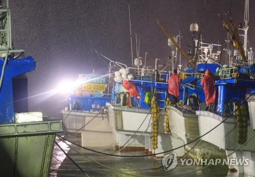 태풍 '콩레이' 영향 전국에 비…최대 250㎜ '물폭탄'