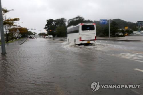 태풍 '콩레이' 243㎜ 폭우·초당 28m 강풍…강원 곳곳 할퀴어