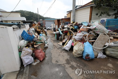 태풍 '콩레이' 피해 컸던 영덕군에 재난안전특교세 10억원 지원