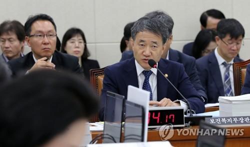 """박능후 """"조선업 근로자 국민연금 체납 피해 구제하겠다"""""""