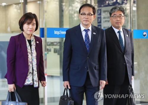 남북산림회담 전체회의 이어 잇단 대표접촉…공동방제 등 논의