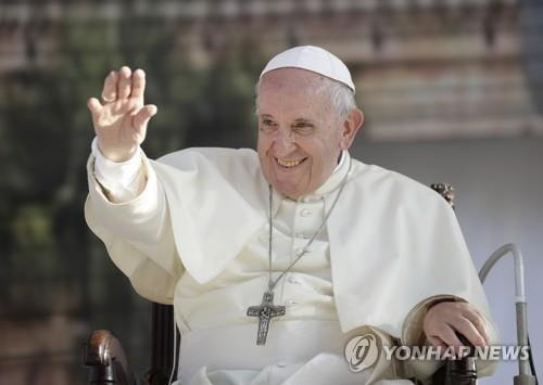 """김정은 """"평양 방문하시면 열렬히 환영"""" 프란치스코 교황 초청"""