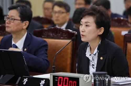 """김현미 """"신규 택지 발표 때 교통대책도 넣을 것"""""""