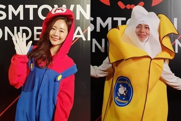 오영주 김충재 /사진=SM 인스타그램
