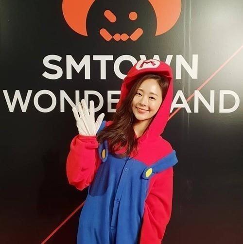 오영주/사진=SM엔터테인먼트 공식 SNS