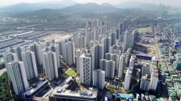 서울 가락동 가락시영아파트를 재건축한 '송파헬리오시티'. HDC현대산업개발 제공