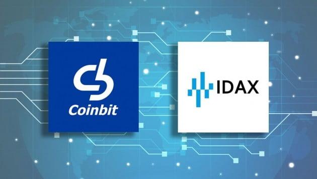 코인빗 덱스(DEX), 세계적인 암호화폐 거래소 IDAX 상장