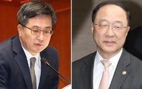 김동연 부총리(사진 왼쪽)·홍남기 국무조정실장 / 사진=연합뉴스