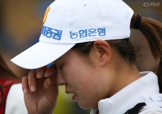 [포토] 우승 확정후 눈물 흘리는 박민지