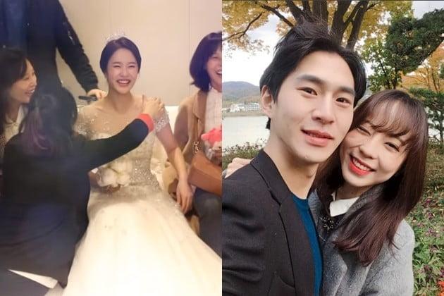 헤이지니 밴쯔 결혼 발표 /사진=헤이지니 유튜브, 밴쯔 인스타그램
