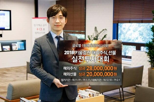 키움증권, 2018 해외주식·해외선물 실전투자대회 개최