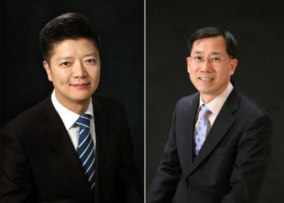 박민식(왼쪽)·정근호 스틱벤처스 부대표