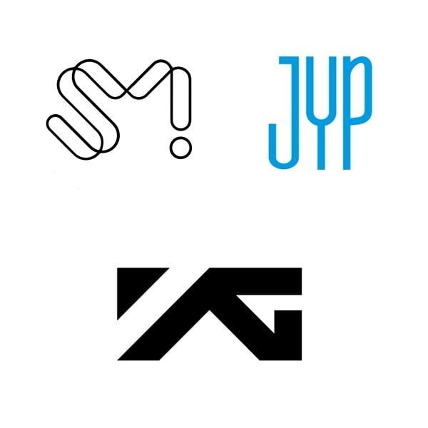 /사진=SM엔터테인먼트, JYP엔터테인먼트, YG엔터테인먼트