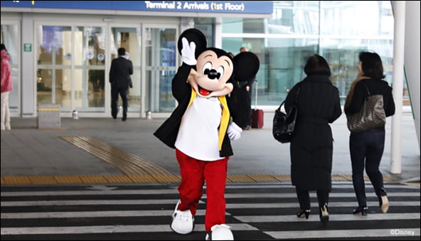 미키 마우스 입국/사진=월트 디즈니 코리아