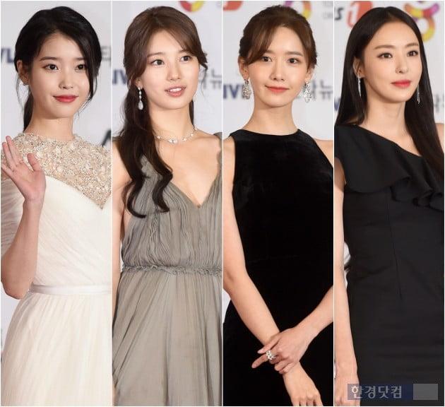 [HK영상] 이다희-김다미-아이유-배수지-윤아, '레드카펫 위에서 더 빛나는 여신들'