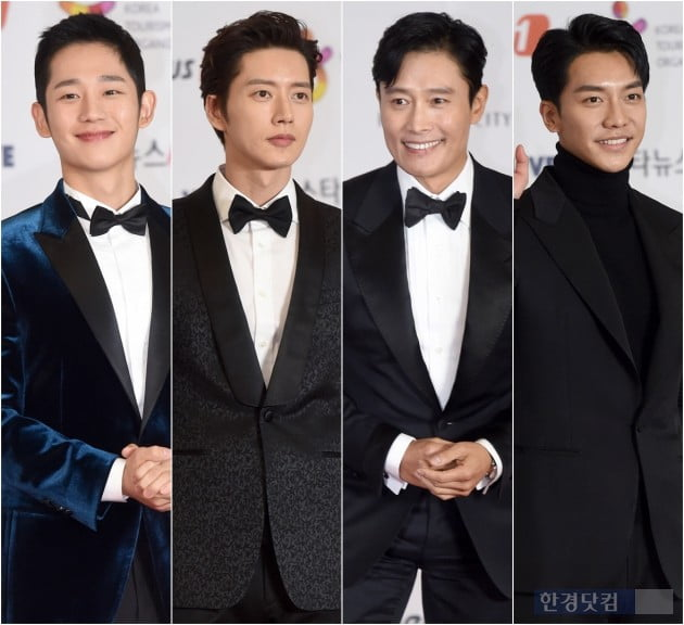 [HK영상] 류준열-정해인-이승기-박해진-이병헌, '레드카펫 뜨겁게 달군 멋진 남자들'