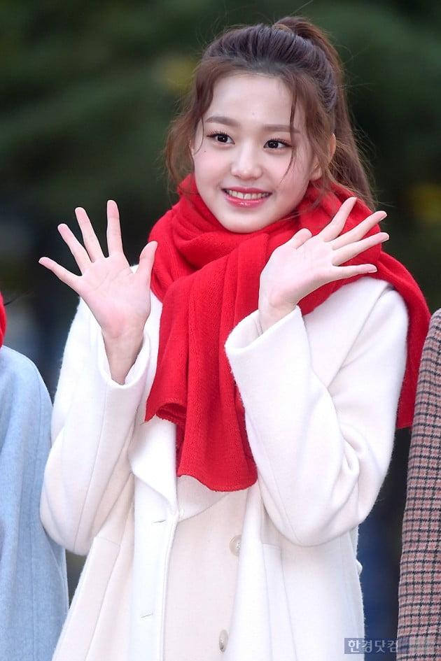 [포토] 아이즈원 장원영, '눈 뗄 수 없는 아름다운 미모'