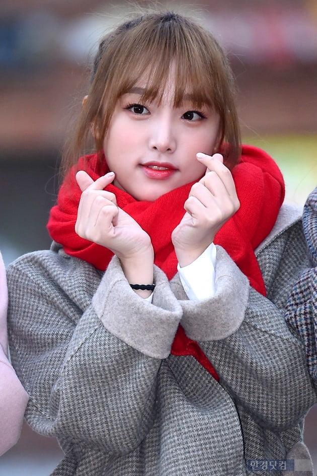 [포토] 아이즈원 최예나, '비타민처럼 상큼한 모습~'